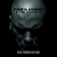 PHIL ANSELMO - WALK THROUGH EXITS ONLY - LP GREEN VINYL NEW 2013 - PANTERA