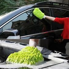 Mitt Microfiber Washing Car Window Home Cleaning Cloth Duster Towel Gloves XM+