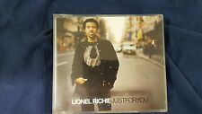 LIONEL RICHIE - JUST FOR YOU. CD SINGLE 4 TRACKS