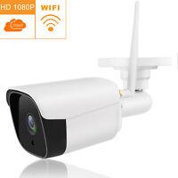 1080P Security IP Camera WiFi Outdoor Cam Waterproof CCTV IR Night Motion Alert