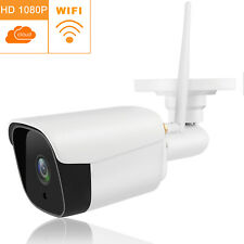 1080P Security IP Camera WiFi Outdoor Cam Waterproof CCTV IR Night Motion Alert