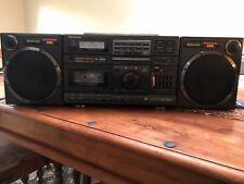 National (Panasonic) RX-DS660 Portátil Cassette/Cd Boombox, Ghettoblaster.