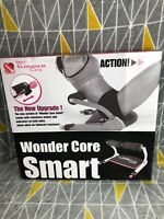 Smart Wonder Core Pink 6 In 1 Home Gym Excercise Workout Machine Foldable DVD