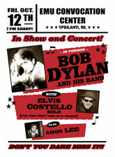 BOB DYLAN  - postcard collection - 100 different promo poster postcards # 5