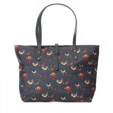 RSPB Blue Birds Zipped Ladies Tote Bag Oilcloth Handbag Shopper Work Ladies Bird