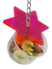 Star Forage Cup - Small Pet Cage Accessory - Sugar Glider, Bird, Chinchilla