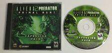 Aliens vs Predator 2: Primal Hunt - RARE PC EXPANSION PACK! Free Shipping USA