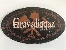 Random Rap Vintage Sticker 1994 Gravediggaz Rza Wu-tang