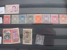 Lot de 13 timbres France/Soudan Français