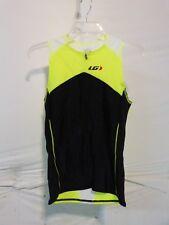 Louis Garneau Comp Sleeveless Triathlon Top Men's Medium Bright Yellow