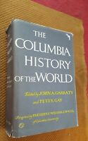 The Columbia History of the World by John A. Peters and Gay Peter (1981, Hardco…