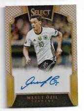 2016-17 Panini Select Soccer Autograph Auto Card :Mesut Ozil #31/50