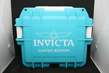 Airtight - Light Blue - 3 Slots Invicta Waterproof Limited Edition Watch Case -