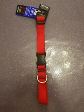"Lupine 3/4"" Adj. Collar 13"" - 22"" (Red) Even-If-Chewed® Lifetime Guarantee"