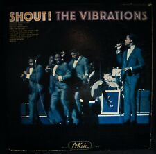 THE VIBRATIONS~Shout! 1965 Mono R&B Soul Album-OKEH #OKM 12111