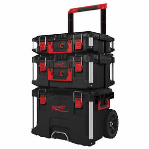 Milwaukee Packout™ Trolley Suitcase, Promo-Set (3-teilig),