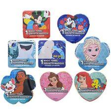 Lot of (8) Mickey Minnie Mouse Dory Elsa Mona Belle Ariel Magic Towels