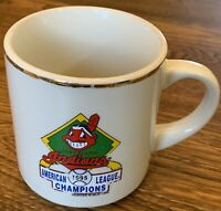 1995 Cleveland Indians American League Champions World Series Mug