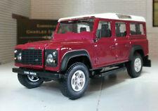 Modellini statici di auto, furgoni e camion scala 1:10 rosso