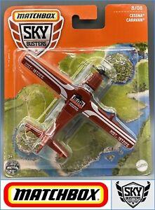 MATCHBOX  Sky Busters - Cessna Caravan Plane Red / GWK55  - Genuine Sealed
