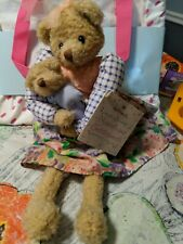 Vintage Hallmark Hyacinth and Cuddlesworth 14'' Mother and Baby Bears