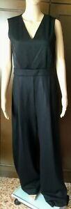 Max Mara Woman SUGHERO Jersey Dress, black color, size 44, lined, wool  Abito