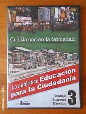 DVD CRISTIANOS EN LA SOCIEDAD 3 - LA AUTENTICA EDUCACION PARA LA CIUDADANIA (G5)