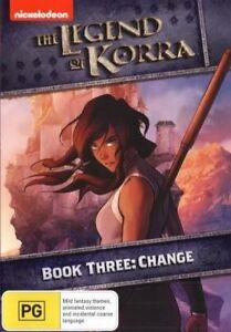 The Legend Of Korra - Change - Book 3 DVD - NEW SEALED