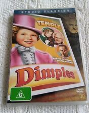 DIMPLES – SHIRLEY TEMPLE – DVD, R-4, NEW, FREE POST IN AUSTRALIA