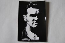 MORRISSEY BLACK & WHITE FACE VINYL STICKER NEW OFFICIAL AS SOLD ON TOUR RARE