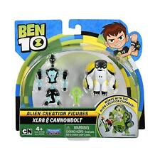 """Ben 10 Alien Creation Figures 2 Pack XLR8 & Cannonbolt 3"""" Action Figure"""