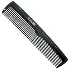 Kent SPC85 Style Professional Combs Hard Rubber, Anti-Static, Unbreakable & Heat