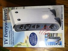 Sharper Image TV Everywhere Wireless Audio & Video Transmission System SI670YYY
