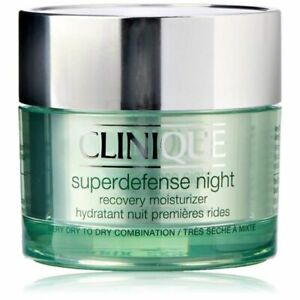 CLINIQUE SUPERDEFENSE NIGHT RECOVERY MOISTURIZER 50ML VERY DRY/DRY COMBINATION