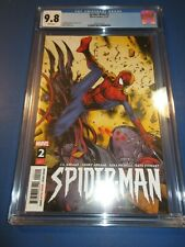 Spider-man #2 JJ Abrams 1st Cadaverous CGC 9.8 NM/M Gorgeous Gem Wow