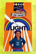Ask Oscar Video School - Light ~ New VHS Movie ~ Vintage Kids Educational Show
