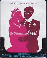 Blu-ray SteelBook **LA PRINCIPESSA SISSI** con Romyn Schneider nuovo 1955