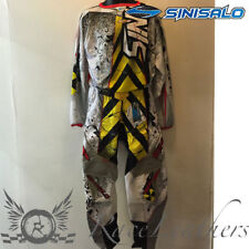 SINISALO KIDS CHILDS CAUTION MX MOTO-X OFFROAD BIKE MOTO-X JERSEY + TROUSER SET