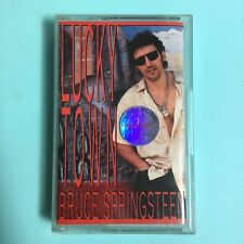 Bruce Springsteen - Lucky Town (1992 Red Paper Label Cassette)