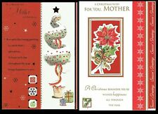 MOTHER ~ Quality CHRISTMAS Card ~ CHOICE of DESIGNS