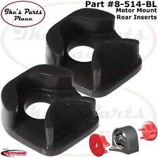 Prothane 8-514-BL Rear Motor Mount Inserts 90-97 Honda Accord 4cyl-ONLY