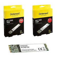 SSD M2 INTERNO INTENSO 256GB/512GB SSD SATA III TOP HardDisk Shock resistant
