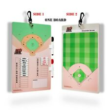 Baseball Softball Coaches Lineup Board Clipboard| Magnetic & Dry Erase Board
