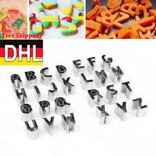 Buchstaben Alphabet Marzipan Kuchenform Backform Ausstecher Fondant Mold DC