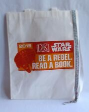 SDCC 2015 exclusive STAR WARS swag BAG & LANYARD San Diego Comic Con BE A REBEL