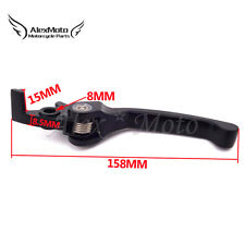 Black Foldable Brake Lever For 50 110 125 140 150 160cc Pit Dirt Bike SSR GIO YX