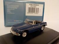 MGB, Roadster, Blue, , Model Cars, Oxford Diecast