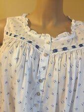 Eileen west nightgown  3X 100% Cotton Lawn  Ballet Gown Stunning White