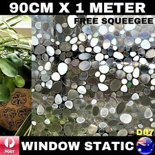 90CM x 1M Static Cling Glueless Reusable Removable Privacy Window Glass Film D07