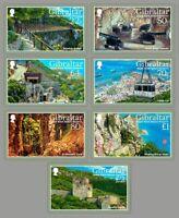 UPPER ROCK NATURE RESERVE MNH FV £5.86 Stamp Set (2017 Gibraltar)